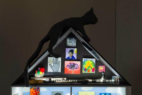Dreamhouse Vs. Punk House (plus Cat house); Photo credit Ruben Diaz