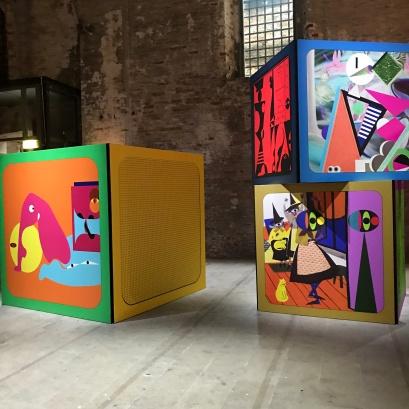 Ad Minoliti, Venice Biennale; Photo credit Sydney Walters