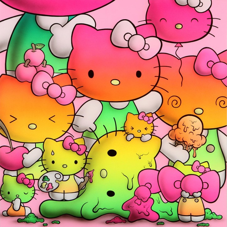 Buff Monster- Rainbow Kitty harmony