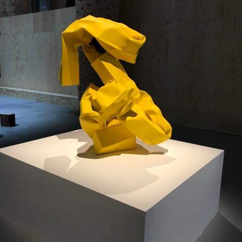 Carol Bove, Venice Biennale; Photo credit Sydney Walters