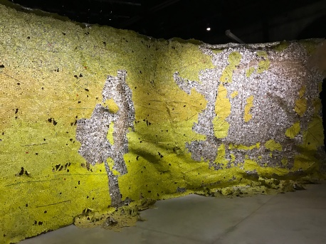 El Anatsui, Venice Biennale; Photo credit Sydney Walters