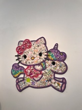 Christybomb, Hello Kitty Confection, Hello Kitty Show, Corey Helford Gallery; Photo credit Genie Davis