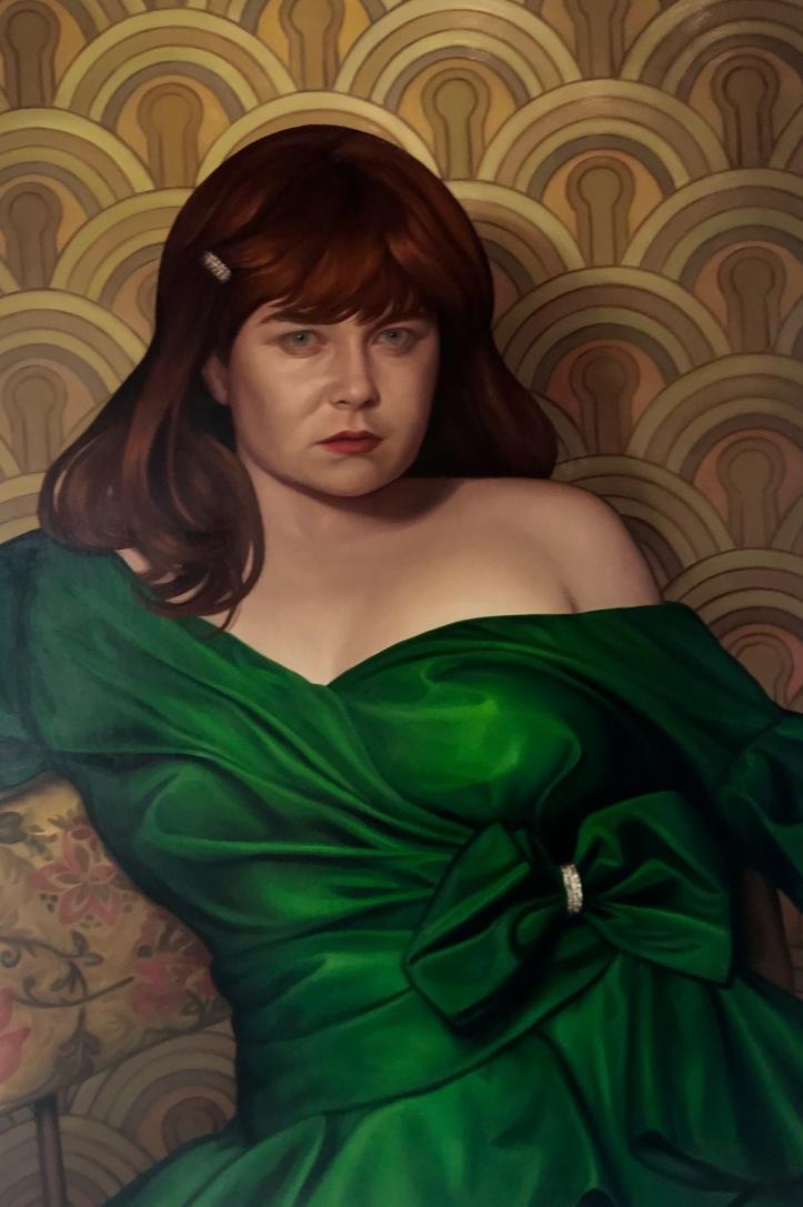 Krifka(green dress)