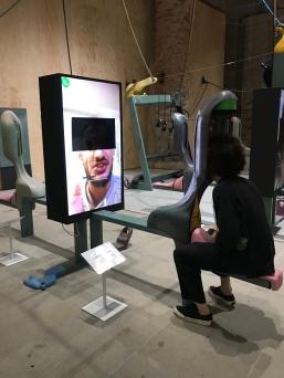 Neil Beloufa, Venice Biennale; Photo credit Sydney Walters