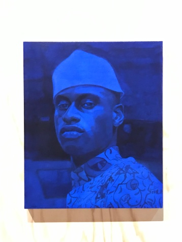 Njideka Akunyili Crosby, Venice Biennale; Photo credit Sydney Walters