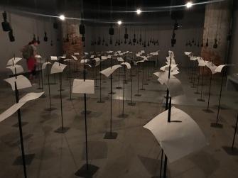 Shilpa Gupta, Venice Biennale; Photo credit Sydney Walters