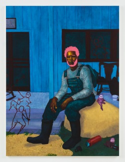 Arcmanoro Niles, If I Get Too Close Will the Magic Fade (I Got a Taste for Poison), Punch Curated by Nina Chanel Abney, Jeffrey Deitch; Image courtesy of the artist