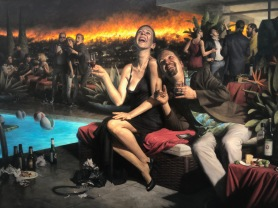 Carl Dobsky, Narrative Painting in Los Angeles, Craig Krull Gallery; Photo credit Betty Brown