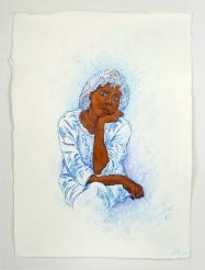 Linda Vallejo, Cultural Enigma: Untitled American Portrait, Brown Belongings, LA Plaza de Cultura y Artes; Image courtesy of the artist