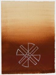Linda Vallejo, Cultural Enigma: Untitled Symbols and Signs, Brown Belongings, LA Plaza de Cultura y Artes; Image courtesy of the artist