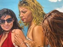 John Valadez, Narrative Painting in Los Angeles, Craig Krull Gallery; Photo credit Betty Brown
