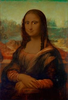 Linda Vallejo, Make 'Em All Mexican: La Mona, Brown Belongings, LA Plaza de Cultura y Artes; Image courtesy of the artist
