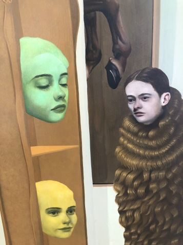 Lola Gil, Narrative Painting in Los Angeles, Craig Krull Gallery; Photo credit Betty Brown