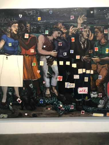 Milo Reice, Narrative Painting in Los Angeles, Craig Krull Gallery; Photo credit Betty Brown