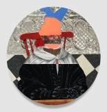 David Shrobe, Nocturnal Vision-Plotting Stars, Punch Curated by Nina Chanel Abney, Jeffrey Deitch; Photo credit Elon Schoenholz