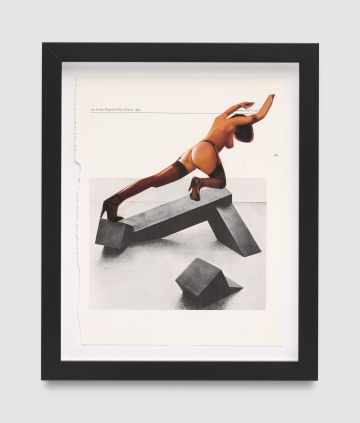 Narcissister, Untitled (Posing with leg extended backwards, after Isamu Noguchi), Punch Curated by Nina Chanel Abney, Jeffrey Deitch; Photo credit Elon Schoenholz