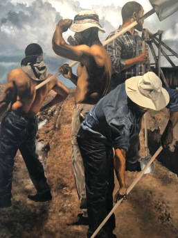 Shawn Michael Warren, Narrative Painting in Los Angeles, Craig Krull Gallery; Photo credit Betty Brown
