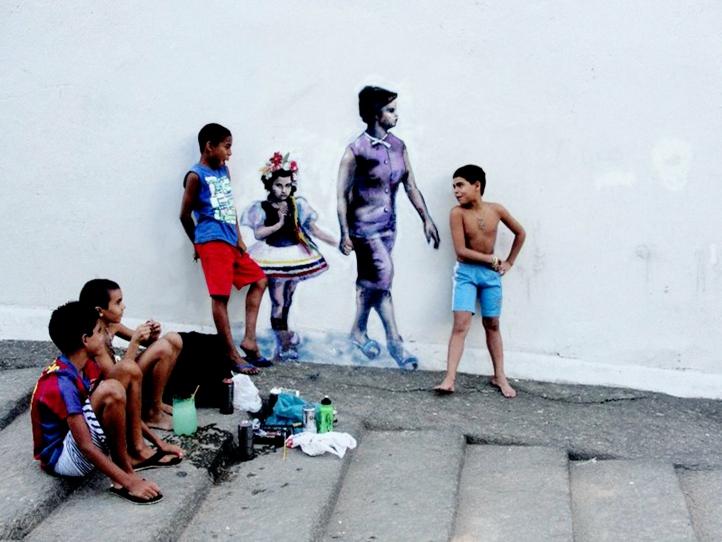 Visible Memories_2010-Vanessa_s first street art project