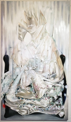 Zara Monet Feeney, Suspension of Disbelief, LA Artcore Brewery Annex; Photo credit Kristine Schomaker