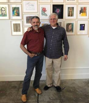 Dan McCleary, right; Image courtesy of Art Division