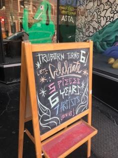 Triborn Gallery Group Show; Photo credit Genie Davis