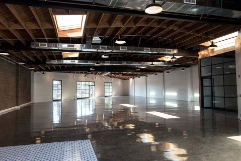 Los Angeles Center of Photography, New space before the classrooms, labs and galleries arrive; Photo credit Genie Davis