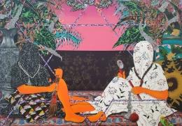 Amir Fallah, LA Painting, MOAH; Photo credit Kristine Schomaker