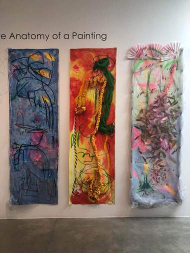 Amy Kaps/Kaye Freeman, Anatomy of a Painting,LA Painting, MOAH; Photo credit Betty Ann Brown