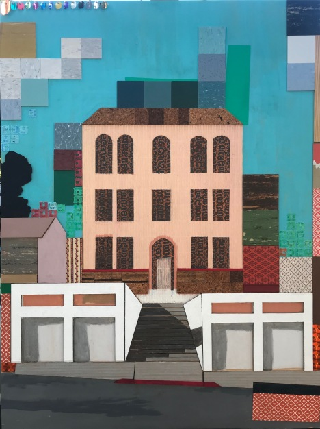 Lorraine Heitzman, Highland Park Garages; Image courtesy of the artist
