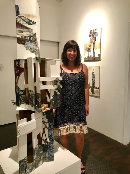 Jennifer Gunlock, Scavengers, The Loft Studios and Gallery; Photo credit Genie Davis