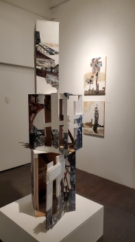 Jennifer Gunlock, Scavengers, The Loft Studios and Gallery; Photo credit Kristine Schomaker