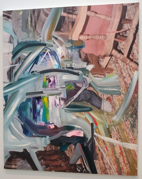 Joshua Dildine, LA Painting, MOAH; Photo credit Kristine Schomaker