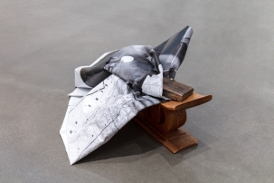 Lerone's Headrest on These Streets © Theaster Gates, Courtesy Regen Projects, Los Angeles