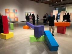 Judy Chicago, Rainbow Blocks, Judy Chicago: Los Angeles, Jeffrey Deitch Los Angeles; Photo credit Betty Brown