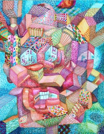 Ric Heitzman, The Burger Flipper; Image courtesy of the artist