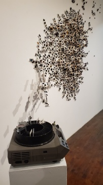 Tracey Weiss, Scavengers, The Loft Studios and Gallery; Photo credit Kristine Schomaker
