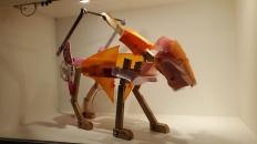 Cynthia Minet, Jacked: Panthera Atrox, Craft Contemporary; Photo credit Kristine Schomaker