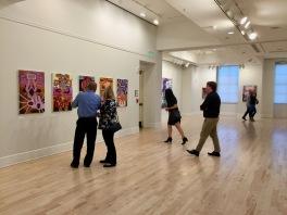 Joel Woodard, Chasing Infinity (or the Mis-Evolution of the Digital Primitive), Founders Hall Art Gallery, Soka University; Photo credit Tony Pinto