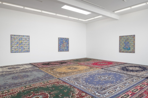 Ardeshir Tabrizi, Masjid, Roberts Projects; Image courtesy of the gallery