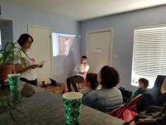 Stew-dio Visit get together and artist talk.Photo Credit Kristine Schomaker