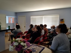Stew-dio Visit get together and artist talk. Photo Credit Kristine Schomaker