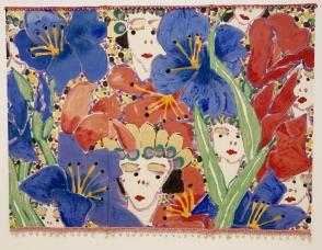Robert Kushner, Fairies, With Pleasure: Pattern and Decoration in American Art 1972–1985, MOCA Grand Avenue; Photo credit David S. Rubin