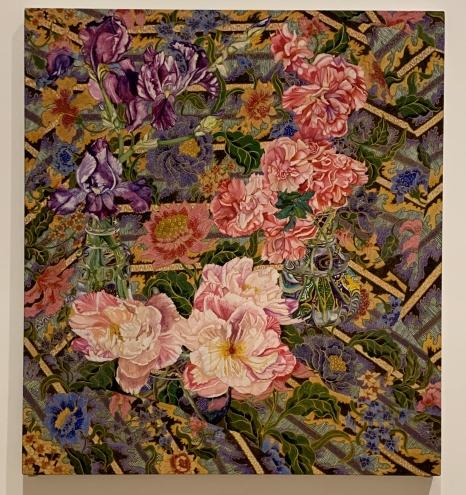 Samdra Sallin, Melasti, With Pleasure: Pattern and Decoration in American Art 1972–1985, MOCA Grand Avenue; Photo credit David S. Rubin