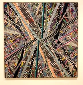Lucas Samaras, Reconstruction #20, With Pleasure: Pattern and Decoration in American Art 1972–1985, MOCA Grand Avenue; Photo credit David S. Rubin