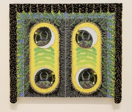 Franklin Williams, Four Made My World, With Pleasure: Pattern and Decoration in American Art 1972–1985, MOCA Grand Avenue; Photo credit David S. Rubin