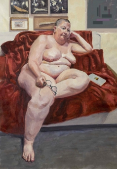 Nurit Avesar, Perceive Me, Ronald H. Silverman Fine Arts Gallery; Image courtesy of the artist