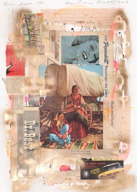 Marcus Sendlinger, Road Trip 2-16; Courtesy of Farm & Distillery and artist
