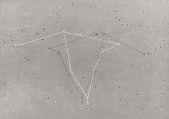 Shana Mabari, Constellation Aquila , Letters on Sunspots, The Light of Space, MOAH; Image courtesy of the artist