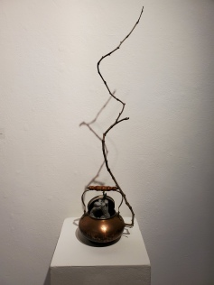 Hilary Norcliffe, Toil and Trouble, St. Broxville Wood: Into the Thicket, Kellogg University Art Gallery; Photo credit Sydney Walters
