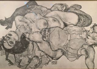 Egon Schiele. LA Art Show, LA Convention Center; Photo credit Nancy Kay Turner
